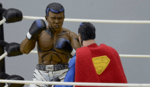 Neca Announced 'Superman vs. Muhammad Ali' Collectible Action Figure Set!