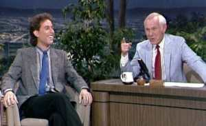 Win 'The Tonight Show Starring Johnny Carson: Johnny and Friends Featuring Jerry Seinfeld' on DVD!