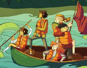 Abrams Signs Deal with BOOM! Studios to Publish Original 'Lumberjanes' Middle-Grade Novels