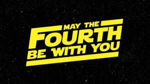 It's May The 4th!  Win a 'Star Wars' T-Shirt!