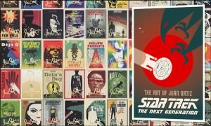 Win 'Star Trek – The Next Generation: The Art of Juan Ortiz'