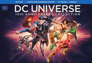 NYCC: The DC Universe Celebrates It's 10th Anniversary With Comprehensive DVD/Blu Box Set!