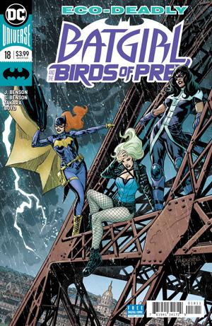 Batgirl And The Birds Of Prey 18 Words Julie Benson Shawna Pictures Marcio Takara Jordan Boyd