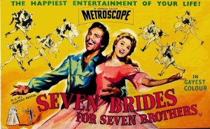 'Seven Brides for Seven Brothers' Two Disc Special Edition Debuts on Blu-ray June 5 From Warner Archive!