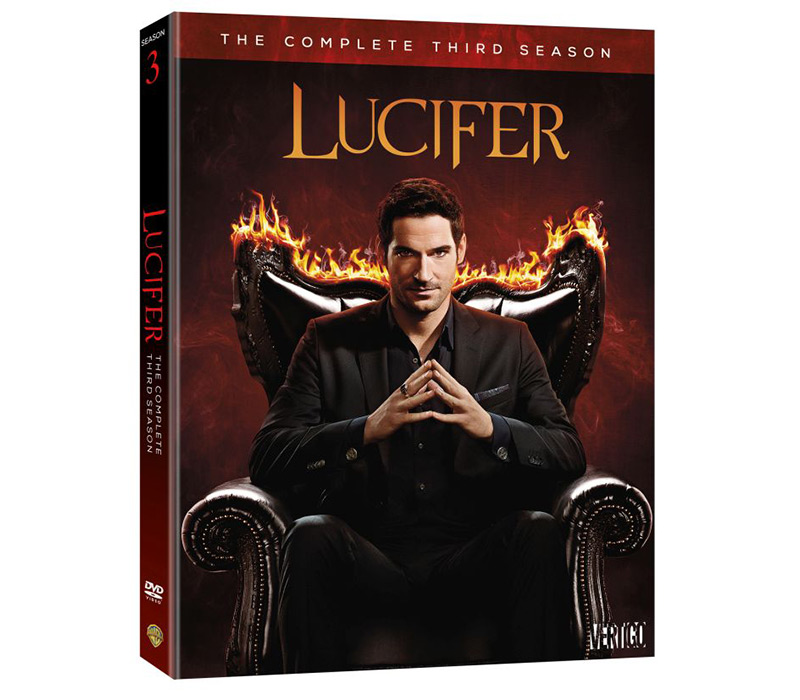 Lucifer Season 4 Remiel: 'Lucifer: The Complete Third Season'