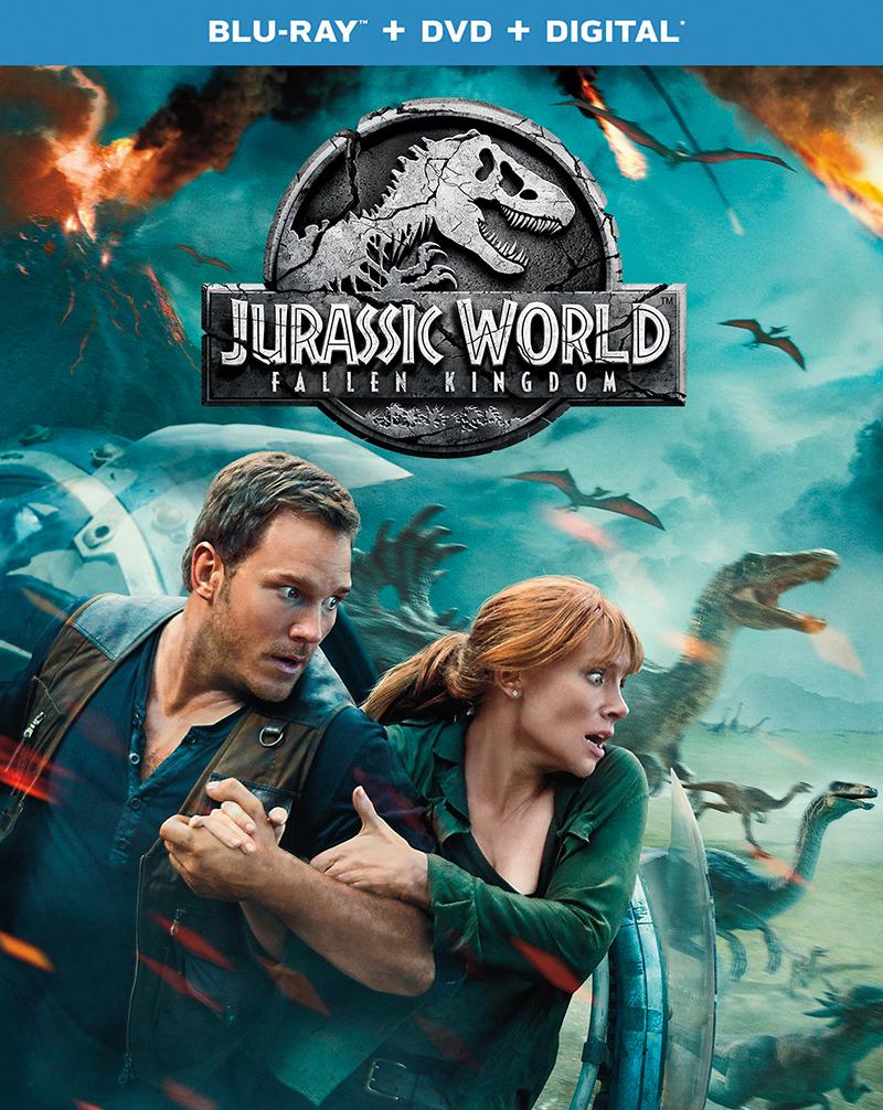 'Jurassic World: Fallen Kingdom' Arrives on 4K Ultra HD, 3D Blu-ray, Blu-ray & DVD 9/18; Digital HD 9/4