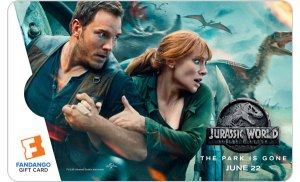 'Jurassic World: Fallen Kingdom' Heads to FandangoNOW; Win a Gift Card To Add it to Your Digital Collection!