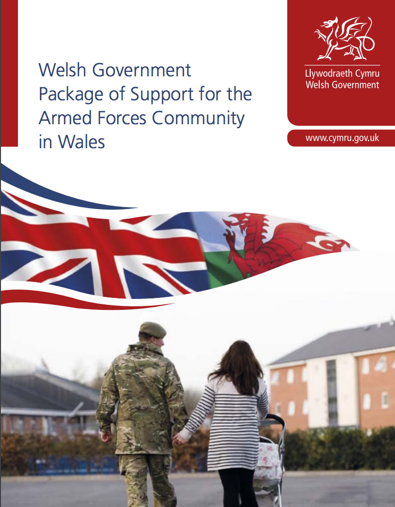 Support for the Armed Forces Community in Wales