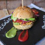 Hamburger vegani di lenticchie