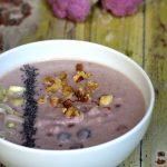 Zuppa di cavolfiore rosa