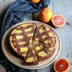 Crostata ricotta e arance