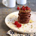 Pancakes vegan al cioccolato