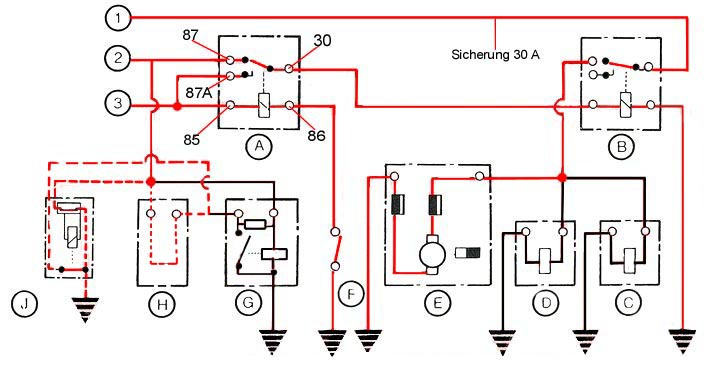 K Jetronic Fuel Injection Diagram