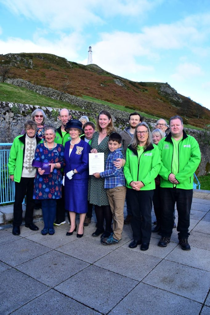 Ford Park volunteers officially receive Queen's Award
