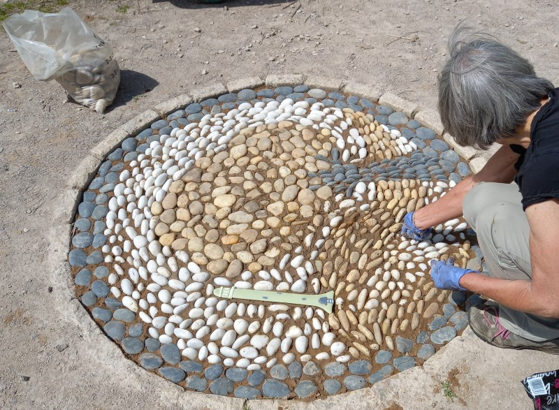New mosaic nears completion