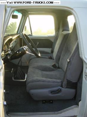 1966 Ford F100 4x2 66 F100 Interior