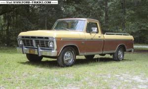 1974 Ford F100 4x274 F100 Ranger XLT