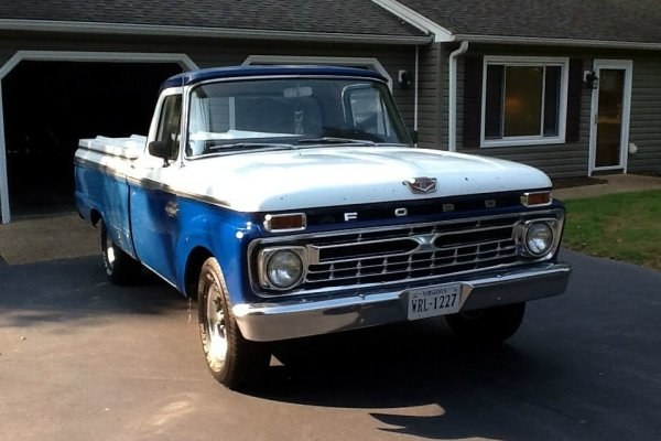 1966 Ford F-100 Build