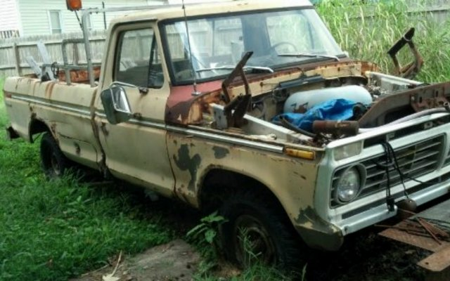 1975 Ford F-100 Build