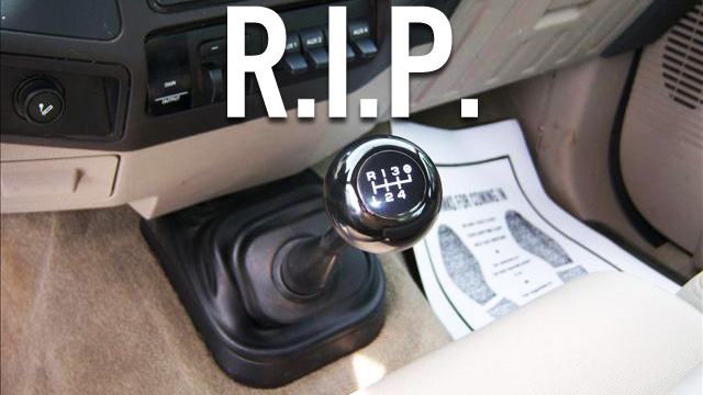 The Manual Transmission Is Dead And It S Never Coming