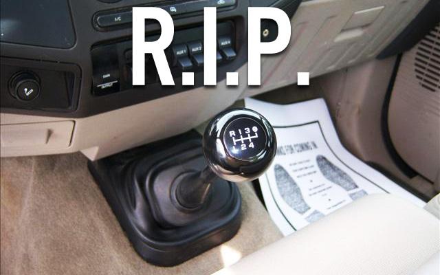 manual transmission in new ford trucks