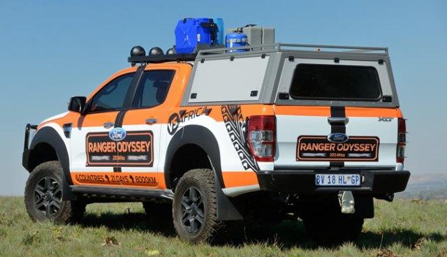 Ford Ranger Odyssey Africa