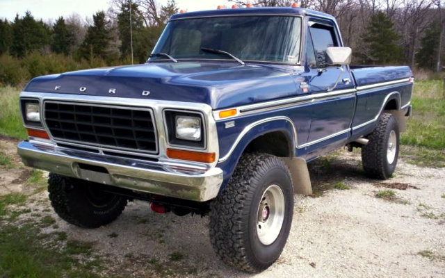 1978 Ford F-250 4X4
