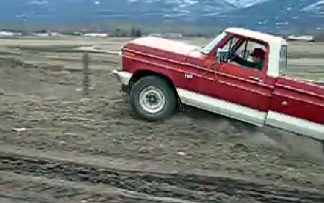 1973 Ford Jumps over a Fence