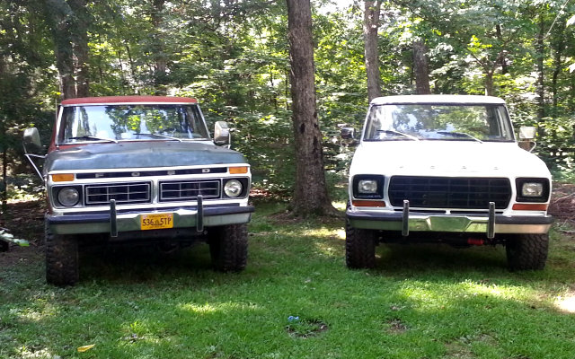 '76 F-250 and '78 F-150