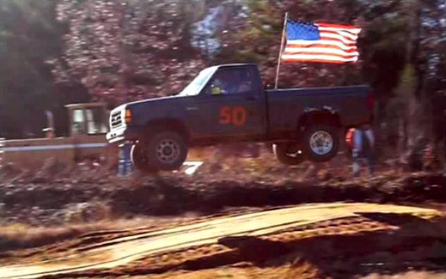 Ford Ranger Jump