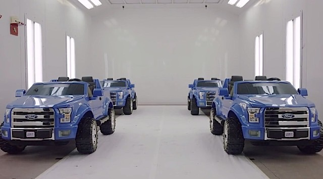 F-150 Power Wheels Torture Test