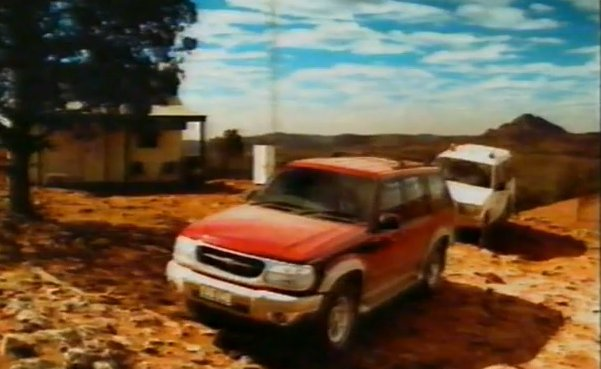 aussie 2000 ford explorer ad