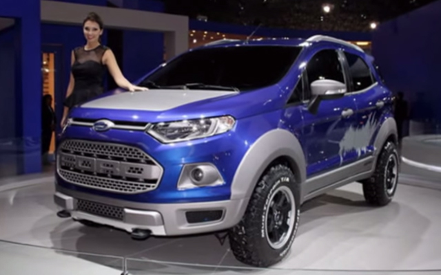 The Ford Ecosport Is Here To Bite Your Ankles Ford Trucks Com