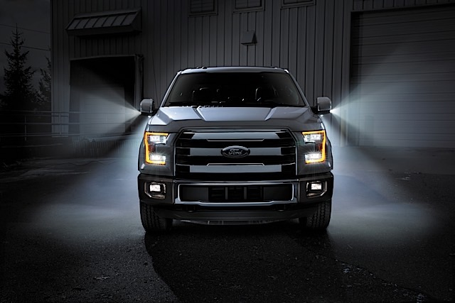 Every Truck Needs Led Side Mirror Spotlights Ford Trucks Com