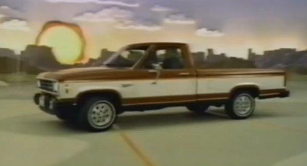1983 ford ranger ad