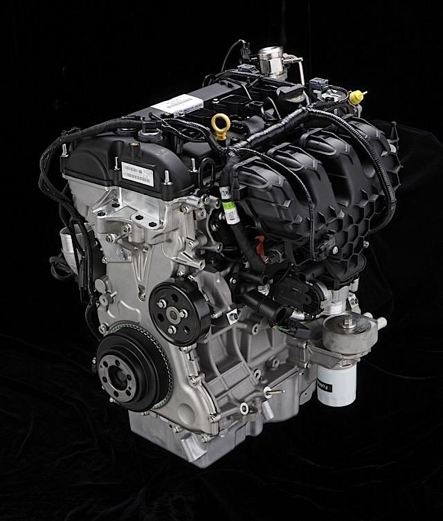 2.0 liter four-cylinder EcoBoost engine