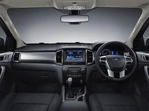 New Ford Ranger 4_interior