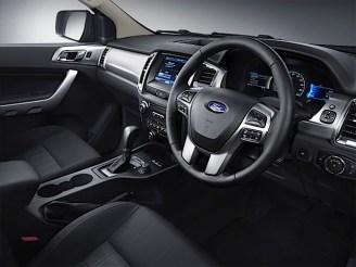 New Ford Ranger 5_interior driver