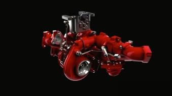 Nissan TITAN XD's Cummins 5.0L V8 Turbo Diesel Two-Stage Turbo