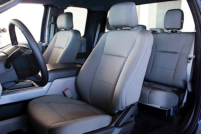 Recycled Material in 2015 F-150 Seats