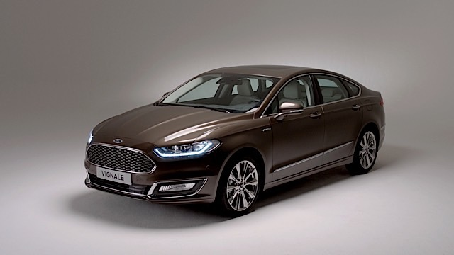 New Production Ready Ford Vignale Mondeo Launches Upscale Product and Personalised Ownership Experience