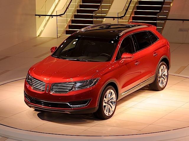 Lincoln MKX intro at NAIAS