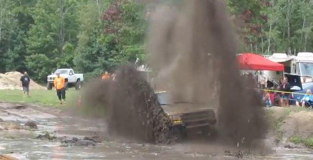 ranger throwing mud