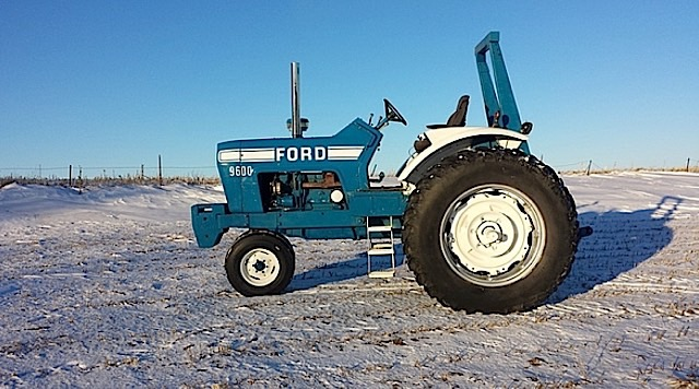 1974 Ford 9600 Tractor