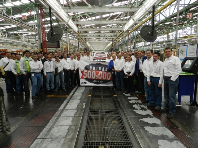ford fiesta mexico plant tax