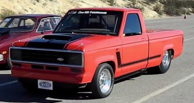 TRUCKIN' FAST 1985 Ranger Rocks Down the 8th Mile - Ford-Trucks.com