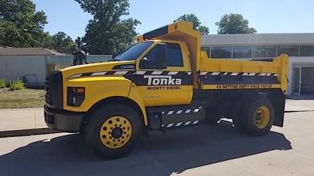 Ford F-750 Tonka Mighty Diesel - 2015-07-30 10.58.01