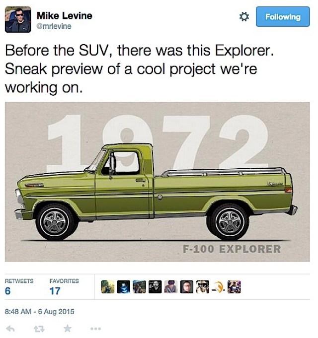 Ford Explorer Truck1
