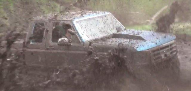 1996 f150 stuck mud
