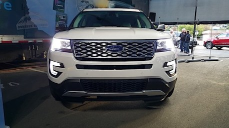 2016 Ford Explorer Platinum Adventure Tour - Kamloops to Calgary - The Calgary Stampede - 20150901_185027